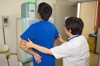 検査時間・流れ 胸部X線検査