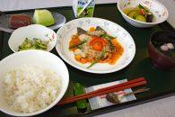 人間ドックセンター 健康定食 魚料理