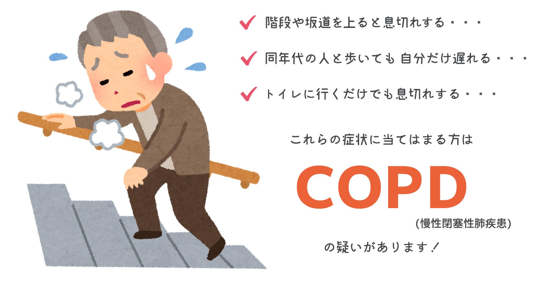 COPD症状チェック