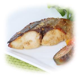 菜彩鶏のゆず胡椒焼き
